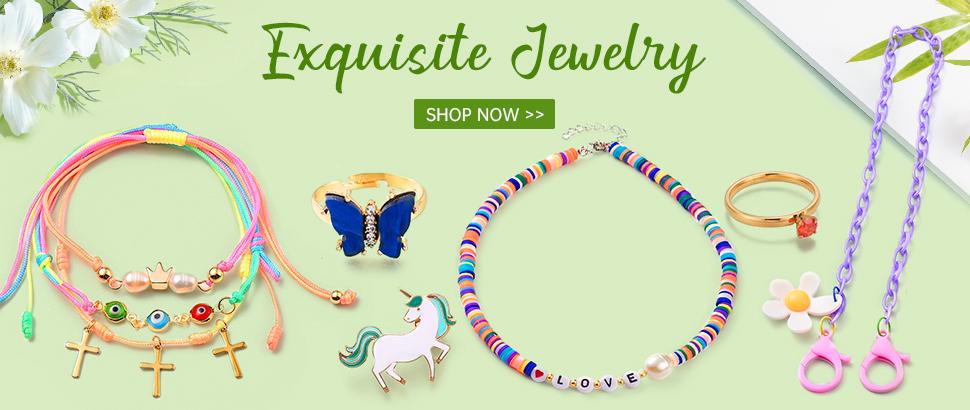 Exquisite Jewelry  Shop Now